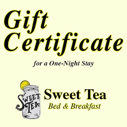 1-Night Gift Certificate at Sweet Tea Bed and Breakfast