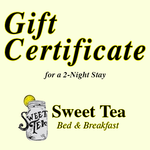 2-Night Gift Certificate at Sweet Tea Bed and Breakfast